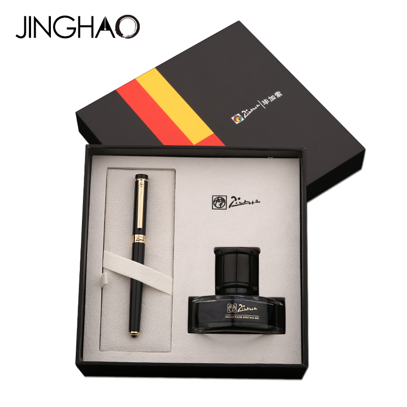 Luxury Pimio 908 Iraurita Fountain Pen Ink Set High-end Metal Gold Clip Gift Pens for Teacher Student Friend Family and Business 50pcs atmega328p pu dip atmega328 pu dip28 atmega328p new and original ic free shipping