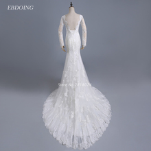 EBDOING Vestidos De Novia Wedding Dress 2017 Mermaid Scoop
