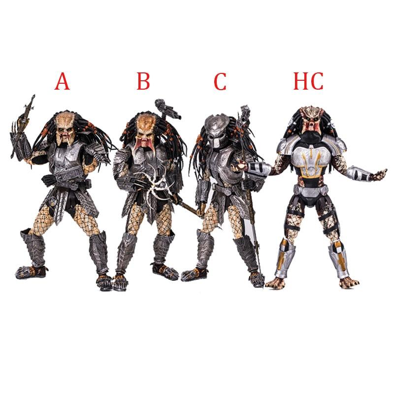 NECA AVP Alien vs Predator 32cm 1 6 scale Scar Predator MMS190 PVC Action Figure Collectible