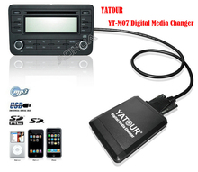 Yatour YT-M07 TOY2 For Toyota / Lexus 6+6 small plug series 03-12 iPod / iPhone / USB / SD/ AUX All-in-one Digital Media Changer
