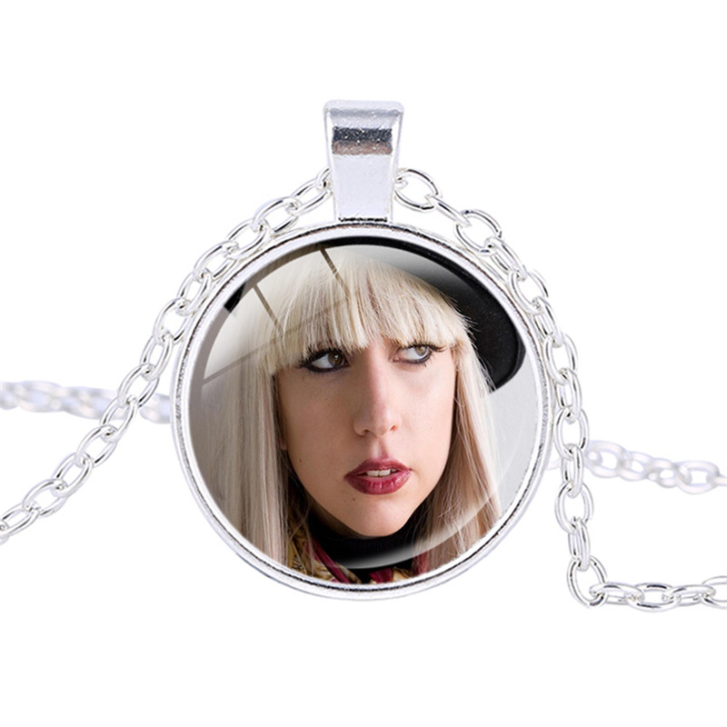 Hot trend of the popular fashion Promotion Lady GaGa photo necklace Mother Monster pendant jewelry Fashion necklace Chokers