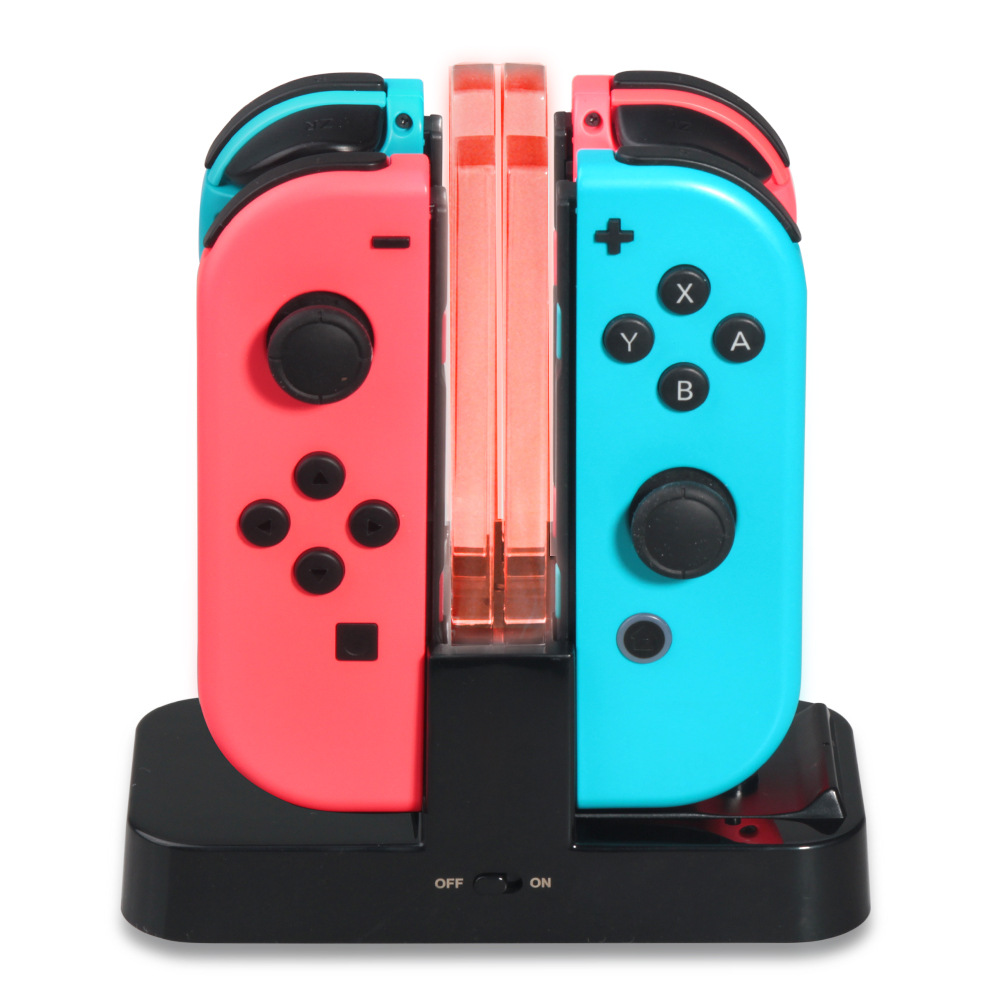 4 In1 Game Console Controller Charger Gamepad Console Charging Station Stand Charger Dock Holder Game Accessories For Ps4
