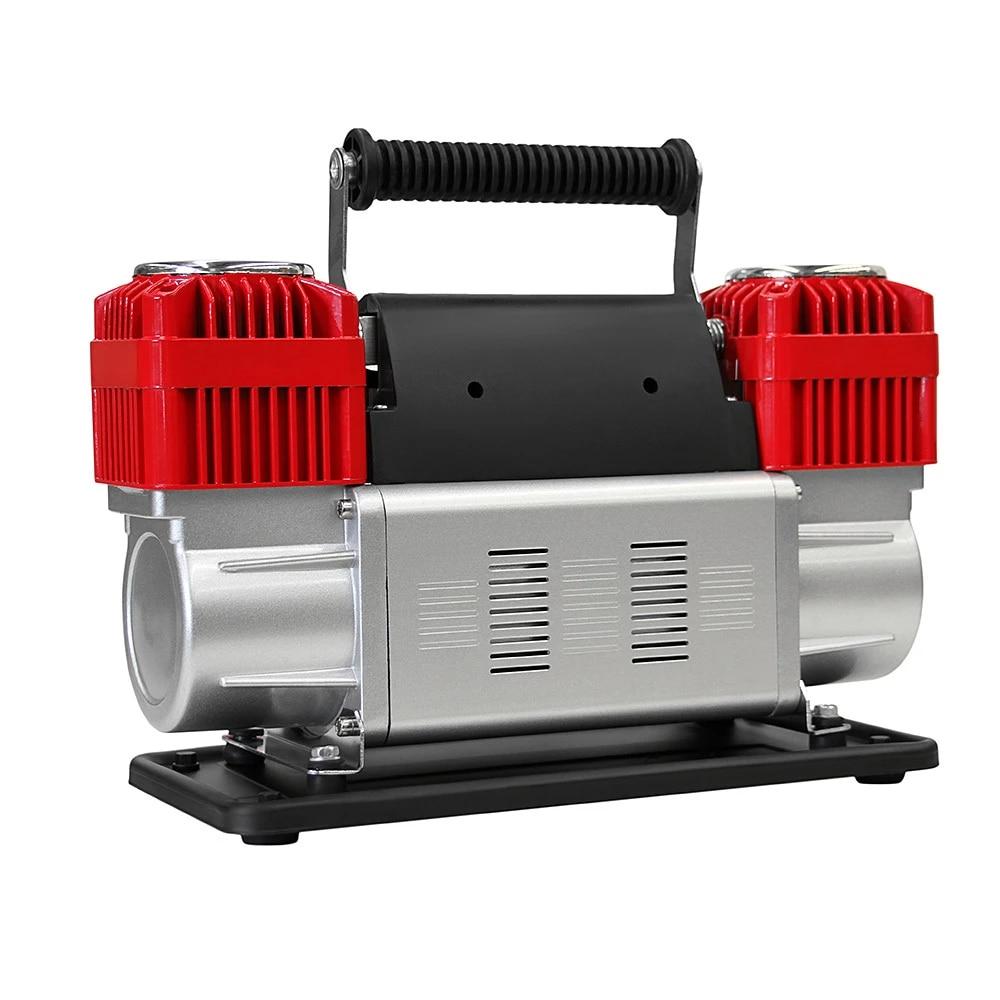 DC 12V Car Air Compressor Portable Tires Inflatable Pump Accessories Tire Tyre Inflator Electric Auto on Car Air Compressor