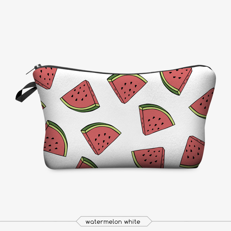 Jom Tokoy 3D Printing Makeup Bags With Multicolor Pattern Cute Cosmetics Pouchs For Travel Ladies Pouch Women Cosmetic Bag 17
