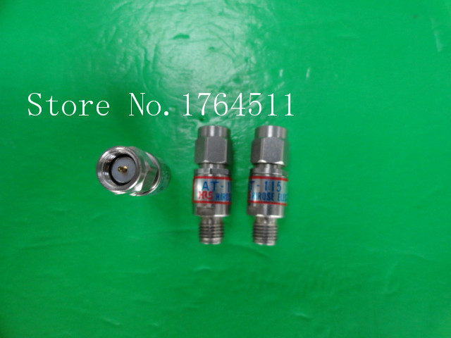 [BELLA] HRS AT-115 DC-18GHz Att:15dB 2W SMA Coaxial Fixed Attenuator  --2PCS/LOT