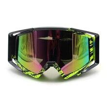 Мотоцикл очки MX МОТОЦИКЛ Gafas внедорожный грязный велосипед ATV лыжи спортивные гоночные очки