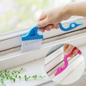Slit Trench Doors Groove Cleaning Brush Tube Cleaning Brush Hand-held Kitchen Air Conditioning Outle