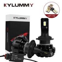 KYLUMMY 2pcs Car LED Headlight Bulb H1 H3 H4 H7 H8 H9 H11 H27 9005 9006