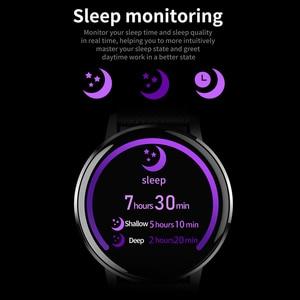 Image 4 - Rundo T4 ساعة ذكية للنساء الرجال معدل ضربات القلب ضغط الدم رصد موضة الرياضة ساعة تعقب اللياقة البدنية ل أندرويد أو IOS
