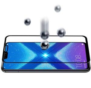 Оригинальное Защитное стекло для Huawei Honor 8x, защитный чехол для экрана на Huawey honer Honor8x 8 X X8, закаленное стекло, полное покрытие, пленка
