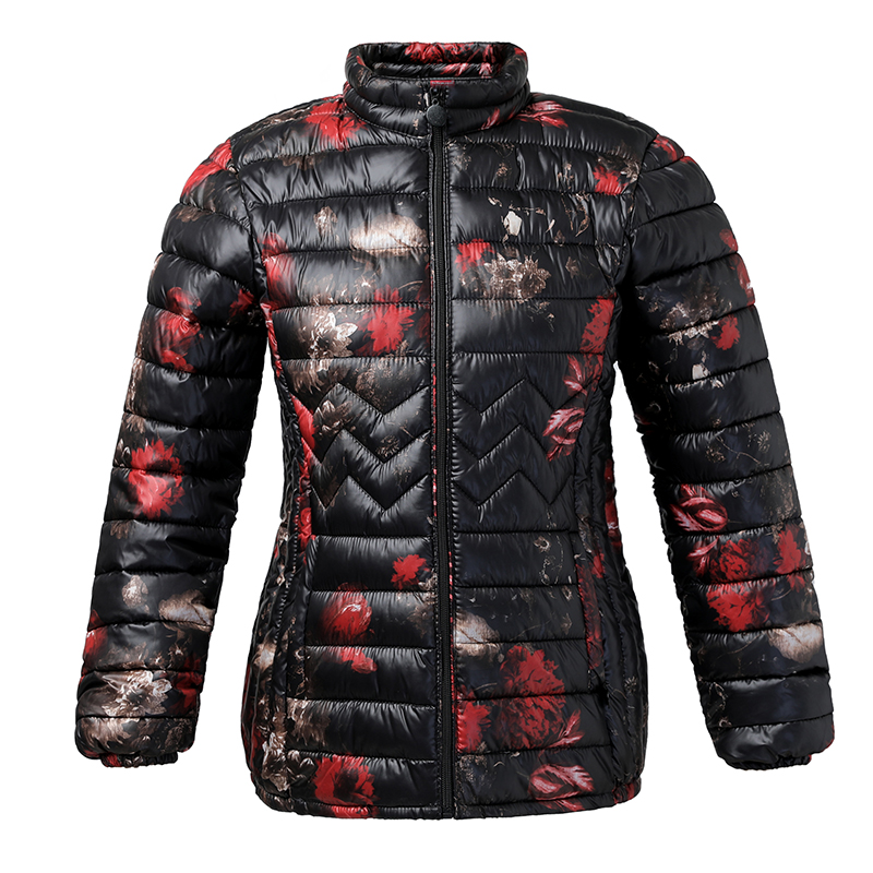 KUYOMENS L-5XL New Women Winter Coat Fashion Female Jacket Ultralight Portable Slim Coat Female Winter Jackets Ladies   Parka