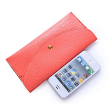 2014 new Korean women wallet card package long slim package can be customized wholesale candy color multicolor Wallet