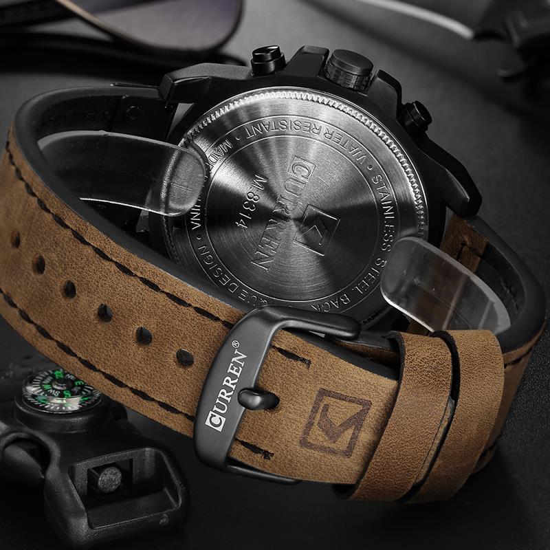 Reloj De Hombre Curren 02d Curren Uruguay No Casio