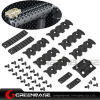 Greenbase New Rail Covers Black Dark Earth
