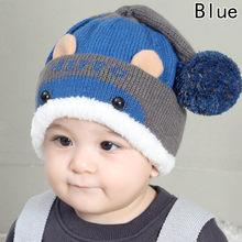 Cap Bebê bonito Chapéu Do Inverno Gorros Quentes Para Crianças Meninos  Meninas Dos Desenhos Animados de 9c98eb9de60
