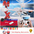 Mjx x400 fpv rc quadcopter con cámara iphone android wifi remoto Avion GPS Drone UFO Helicóptero de Control RTF $ NUMBER CANALES VS H107D H9D