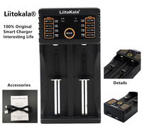 Liitokala Lii 202 18650 Charger For 1 2V 3 7V 3 2V 3 85V AA AAA