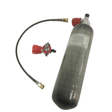 Купить с кэшбэком AC103101 HPA bottle air gun paintbal 3L tank 4500psi condor scuba pcp diving bottle cylinder 300bar rifle compressed softgun