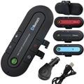 2016 Bluetooth Car Kit Bluetooth Manos Libres Para Coche Altavoz Magnético Teléfono Visor Clip Bluetooth Aux Slim Cargador de Coche