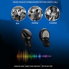 XG14 TWS Bluetooth 5.0 Wireless Earphone Power In Ear Mini Earbuds HiFi 5D Stereo Sport Earphone IP5 Waterproof Headset Headfree