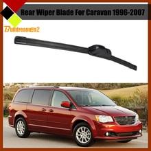 Buildreamen2 Car Rear Windscreen Windshield Soft Rubber Wiper Blade Frameless For Dodge Caravan 1996-2007