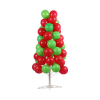 Stable Balloon Tree Display Stand Plastic Base Metal Pole Wedding Birthday Festival Party Decoration ZA6785