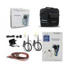Hantek DSO1202B Digital Handheld Oscilloscope Multimeter 2CH 200MHz 1Gsa/S sample rate 1M Memory Depth 6000 Counts DMM