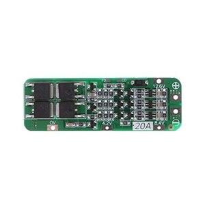 Image 2 - 3S 20A Li Ion batería de litio 18650 cargador Pcb Placa de protección BMS para motor de taladro 12,6 V Módulo de célula Lipo