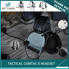 Z Tactical Airsoft Aviation Noise Canceling Hunting Comtac II Headset Peltor Softair Headphone Waterproof цена 2017