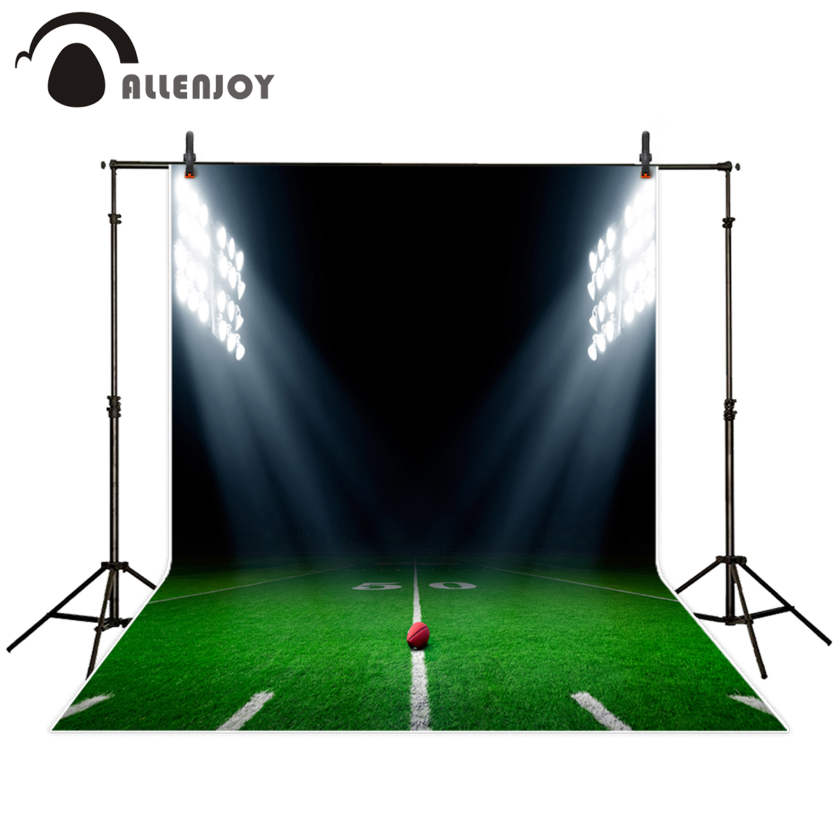 Allenjoy PILE SPORTS THEME background for photo studio American football stadium sport party boy photography backdrop printed seattle mariners felix hernandez photo photo sport poster