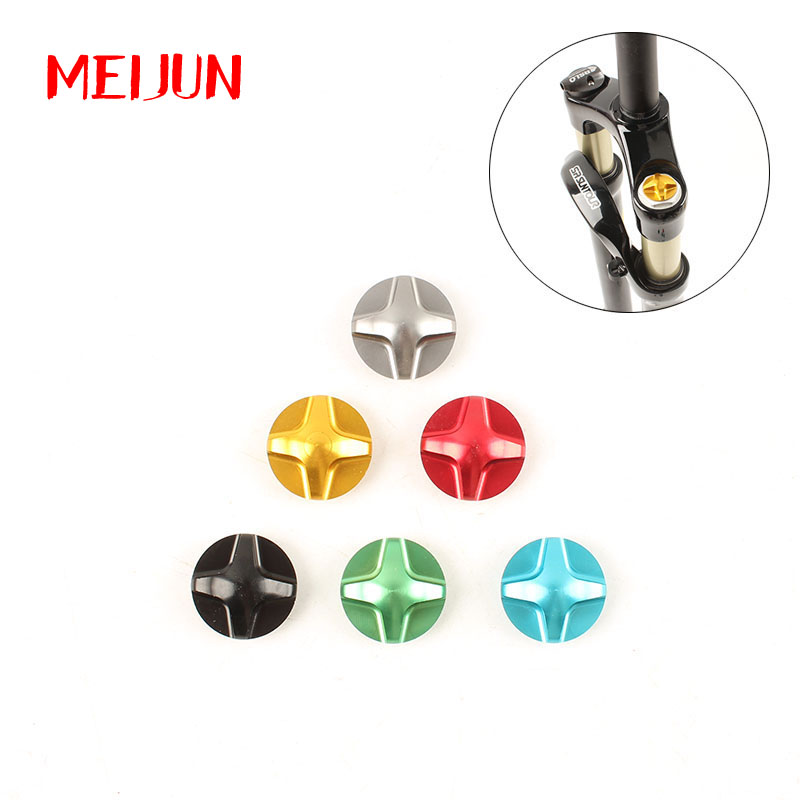 Mountain Bike Gas Value Cover MTB BicycleFront Fork Cap Protector Ultralight