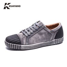 2016 Autumn NEW Arrivals Suede Men Shoes Flats Street Fashion Men  Shoes