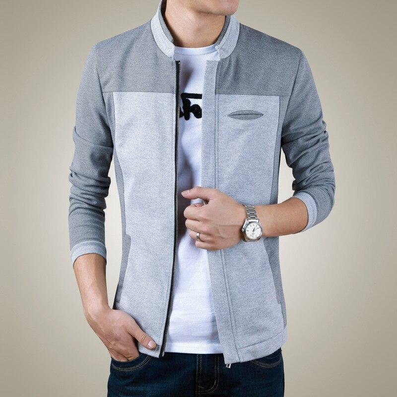 2015 nieuwe heren jas casual jas heren slanke kraag - Herenkleding