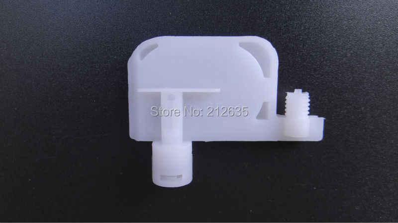 Damper kecil dengan filter besar untuk DX3 DX4 DX5 Print Head untuk R1800 R1900 tinta pelarut damper