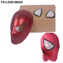 High Quality Spiderman Mask With Spiderman Faceshell With Lens