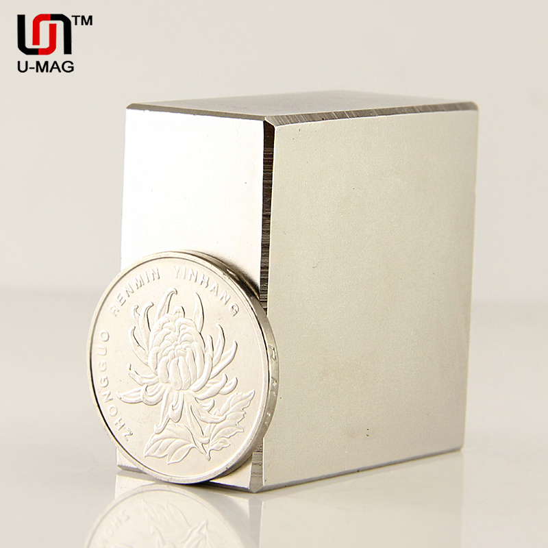 1pcs Block 40x40x20mm N52 Super Strong pull force 84kg magnets Neodymium Magnet high quality 40*40*20 Rare Earth