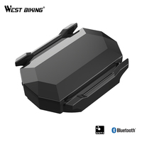 WEST BIKING Wireless Bluetooth ANT+Speed Cadence Dual Sensor For Garmin Bicycle Speedometer Bike Computer Dual Purpose Sensor