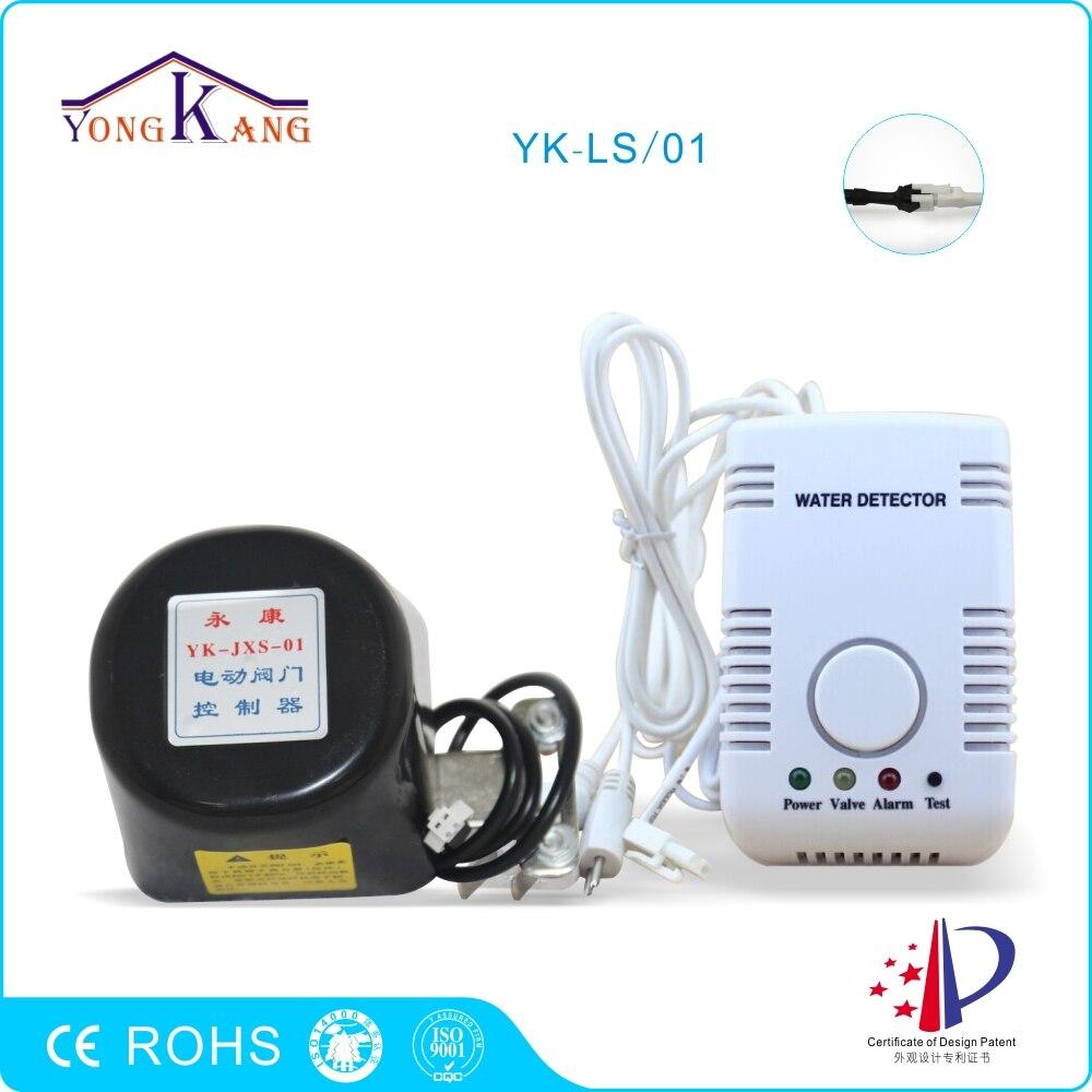 bilder für Yongkang Wasserleck Alarm mit DN20/DN25 Manipulator Ventil Automatische Absperrventil