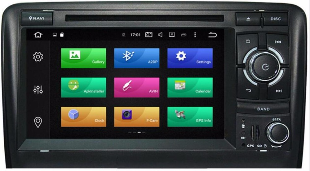 Factory Outlet octa core android 8.0 car dvd player For Audi A3 RS3 car navigation system with TDA7851 IC