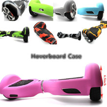 Newest Anti Scratch Sleeve/Enclosure 6.5″ 2 Wheels Self Balancing Electric Scooter Silicone Case Cover for Hoverboard Skateboard