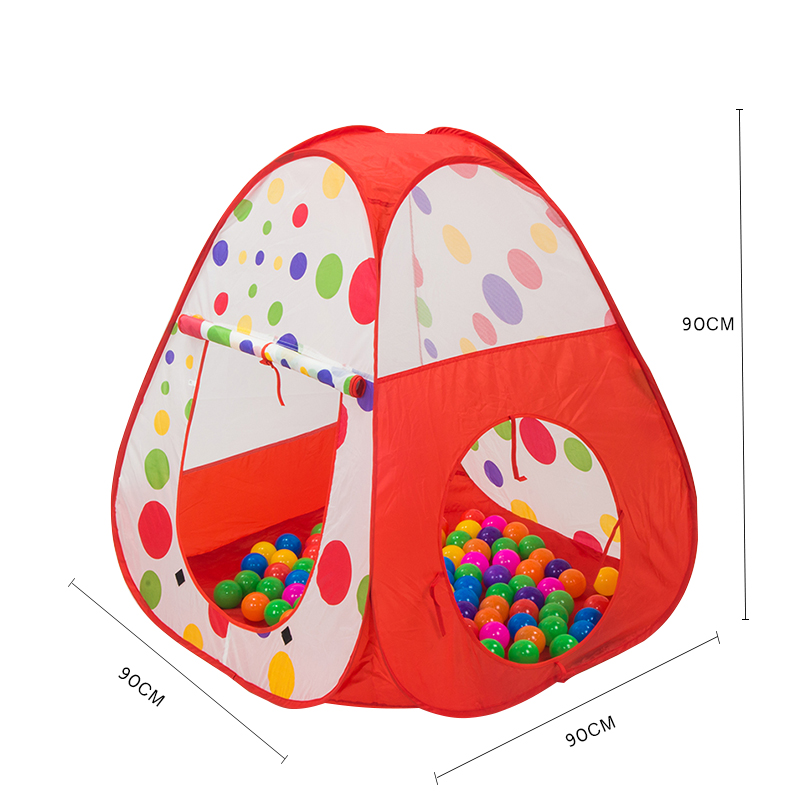 Foldable-Baby-Playing-House-Toys-Storage-Tents-Pool-Tube-Teepee-3pcs-Pop-up-Children-Play-Tunnel