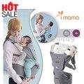 WENDYWU очень популярны Imama Детская Открытый Кенгуру Hipseat Младенческая Shouders многофункциональный Слинг хлопка рюкзак малыш перевозки