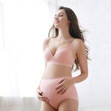 Women High Waist Cotton Maternity Underwear Panties Seamless Lifting Hips Pregnancy Briefs Lingerie 2019 New Arrival