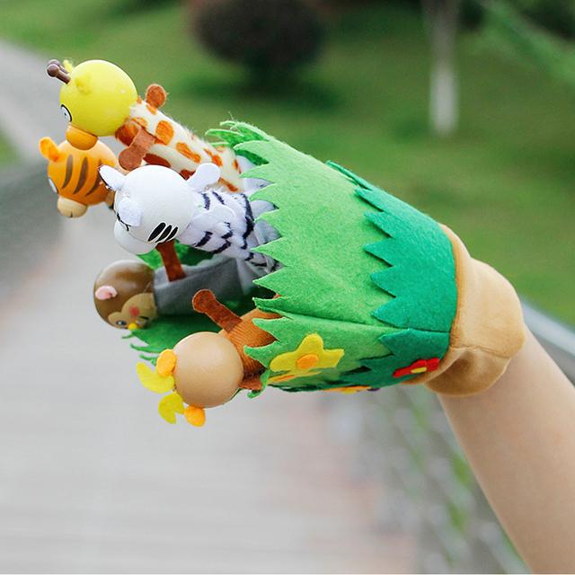 Animal Cartoon Hand Glove Puppets