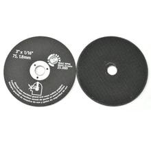 """10 шт., 3 """"75 мм режущие диски, полимер, абразивный шлифовальный круг, Фрезерный резак для металла"""