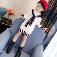 Mommy And Me Mother Clothes Mother Daughter Dress Autumn Winter Knitted Sweater Dress Family Matching Clothes