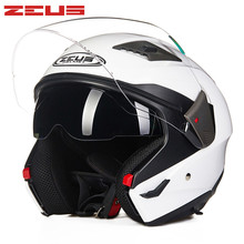 ZEUS Open Face Motorcycle helmet Moto 611E1 Capacetes Motociclismo Cascos Para Moto Casque Motosiklet Kask Motorhelm Helmets
