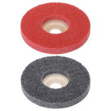 100 мм нейлоновое волокно полировальный круг шлифовальный диск абразивные инструменты материалы поверхностное украшение для углового шлифовального станка