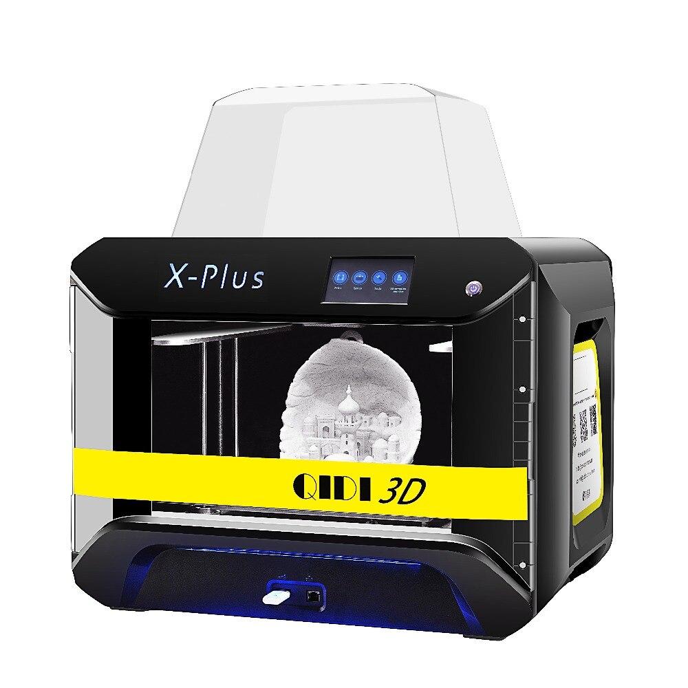 Image 2 - QIDI TECH طابعة ثلاثية الأبعاد X Plus حجم كبير ذكي الصناعية الصف واي فاي وظيفة عالية الدقة الطباعة الوجه شيلدطابعات ثلاثية الأبعاد   -