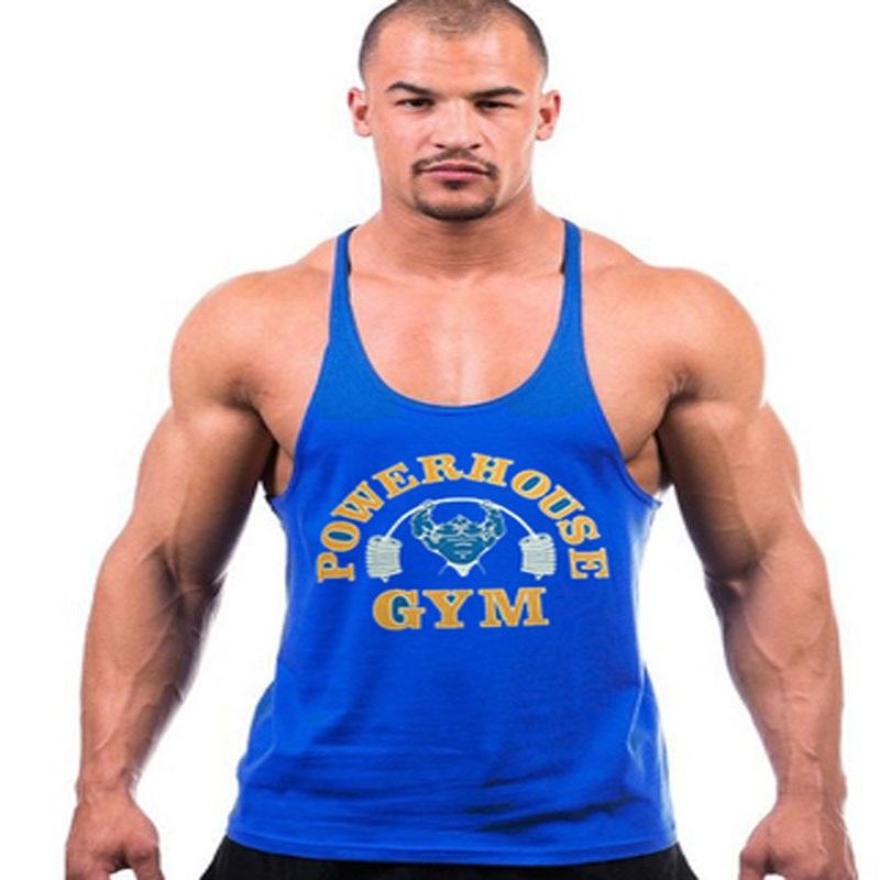 7900e56248df1 Dropwow bodybuilding!Professional fitness Tank tops cotton vest ...